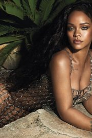 Rihanna Poses for Vogue Magazine Cover June 2018 Issue 2