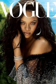Rihanna Poses for Vogue Magazine Cover June 2018 Issue 7