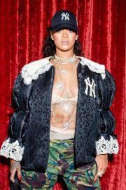 Rihanna Stills at Gucci Wooster Store Opening in New York 2018/05/05 1