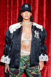 Rihanna Stills at Gucci Wooster Store Opening in New York 2018/05/05 2