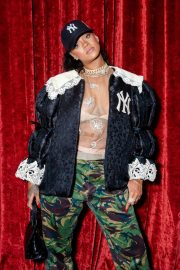 Rihanna Stills at Gucci Wooster Store Opening in New York 2018/05/05 10