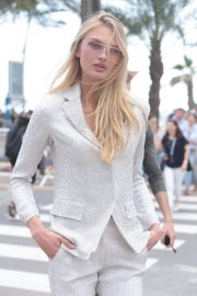 Romee Strijd Stills Out at 71st Annual Cannes Film Festival 2018/05/08 3