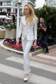 Romee Strijd Stills Out at 71st Annual Cannes Film Festival 2018/05/08 11