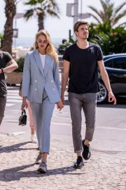 Romee Strijd Stills Out on Croisette in Cannes 2018/05/07 1