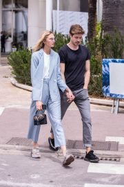 Romee Strijd Stills Out on Croisette in Cannes 2018/05/07 6