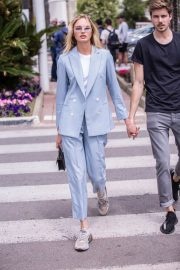 Romee Strijd Stills Out on Croisette in Cannes 2018/05/07 7