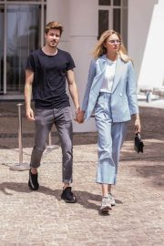 Romee Strijd Stills Out on Croisette in Cannes 2018/05/07 8