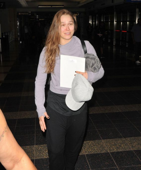 Ronda Rousey Arrives in Washington D.C. 2018/05/27 8