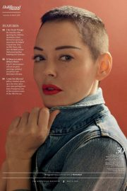 Rose McGowan Stills in The Hollywood Reporter, May 2018 Issue 1