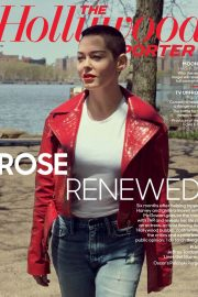 Rose McGowan Stills in The Hollywood Reporter, May 2018 Issue 4