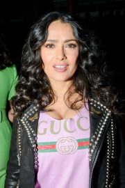 Salma Hayek Stills at Gucci Wooster Store Opening in New York 2018/05/05 4