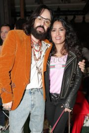 Salma Hayek Stills at Gucci Wooster Store Opening in New York 2018/05/05 7
