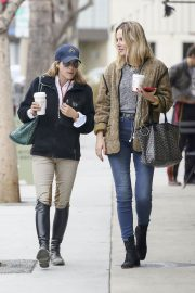 Selma Blair and Monet Mazur Out for Coffee in Los Angeles 2018/05/24 1