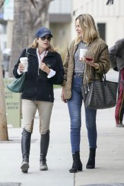 Selma Blair and Monet Mazur Out for Coffee in Los Angeles 2018/05/24 7