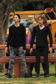 Selma Blair and Roselyn Sanchez Stills Working Out at a Park in Studio City 2018/05/23 35