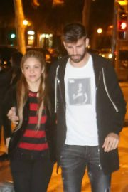 Shakira and Gerard Pique Stills Our for Dinner in Barcelona 2018/05/06 2