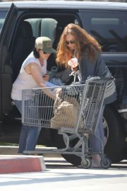 Shannen Doherty Stills Out Shopping at Trancas Country Market in Malibu 2018/04/29 9