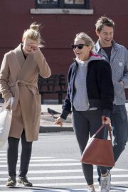 Sienna Miller and Claire Danes Stills Out in New York 2018/04/30 16