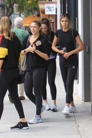 Sistine Rose Stallone and Scarlet Rose Stallone Beautiful Daughter of Sylvester Stallone 2018 Star Kids 1