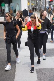 Sistine Rose Stallone and Scarlet Rose Stallone Beautiful Daughter of Sylvester Stallone 2018 Star Kids 8