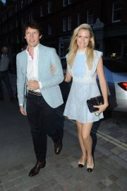 Sofia Wellesley and James Blunt Leaves Kylie Minogue's Birthday Party in London 2018/05/27 3