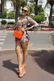 Tallia Storm Stills Out and About in Cannes 2018/05/08 17
