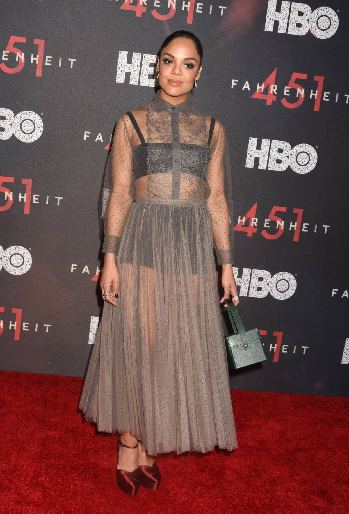 Tessa Thompson Stills at Fahrenheit 451 Premiere in New York 2018/05/08 5