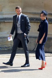 Victoria and David Beckham Stills at Royal Wedding at Windsor Castle 2018/05/19 3