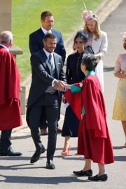 Victoria and David Beckham Stills at Royal Wedding at Windsor Castle 2018/05/19 5