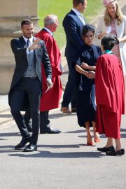 Victoria and David Beckham Stills at Royal Wedding at Windsor Castle 2018/05/19 6