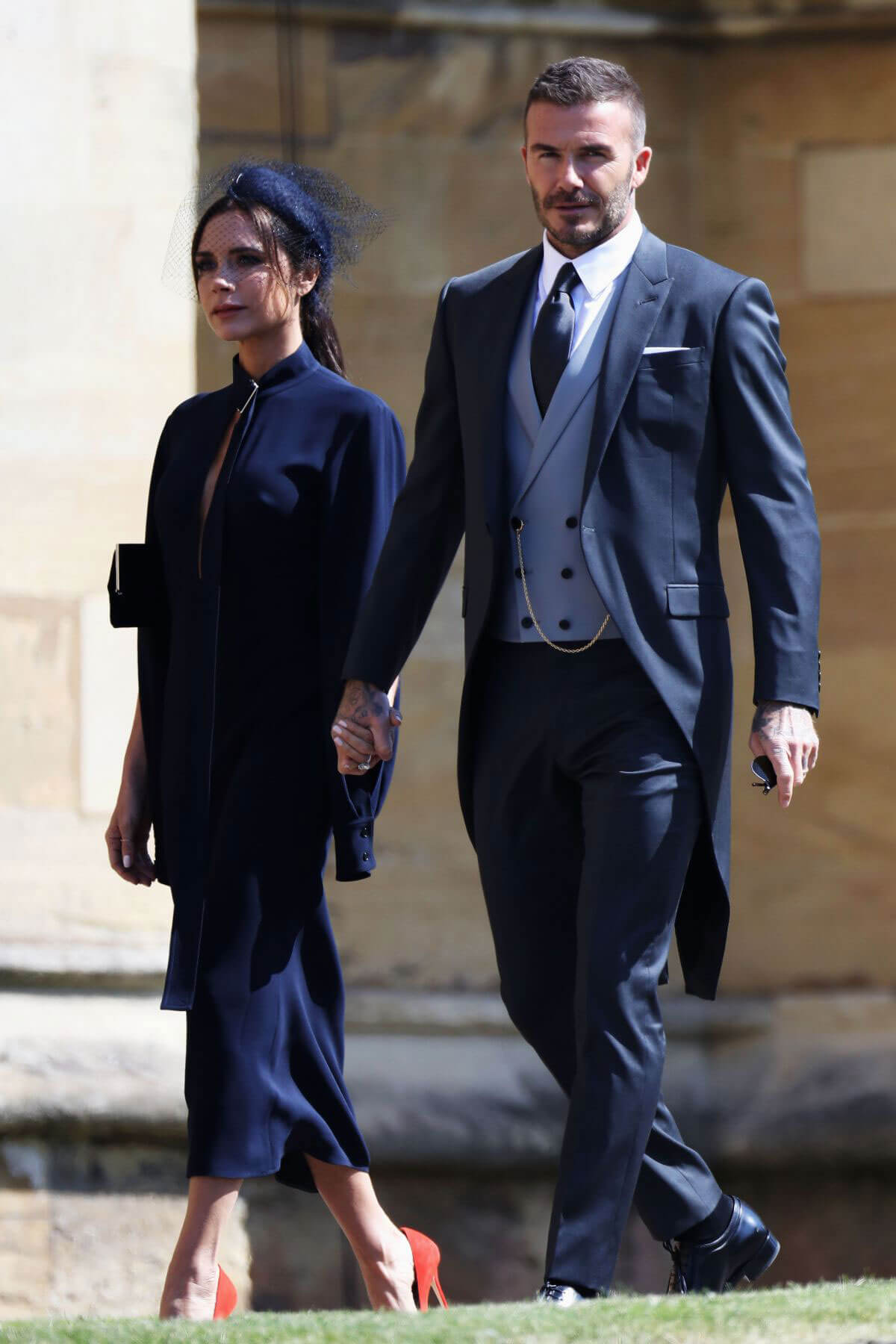 Victoria and David Beckham Stills at Royal Wedding at Windsor Castle 2018/05/19 7