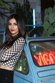 Victoria Justice at Vigo Video Launch Party at Le Jardin in Hollywood 2018/05/24 5