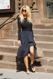 Victoria Silvstedt Stills Out and About in New York 2018/05/03 10