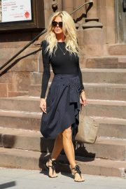 Victoria Silvstedt Stills Out and About in New York 2018/05/03 11