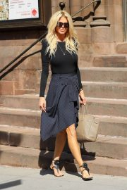 Victoria Silvstedt Stills Out and About in New York 2018/05/03 12