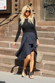 Victoria Silvstedt Stills Out and About in New York 2018/05/03 13