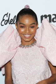Yara Shahidi Stills at Marie Claire Fresh Faces Party in Los Angeles 2018/04/27 10