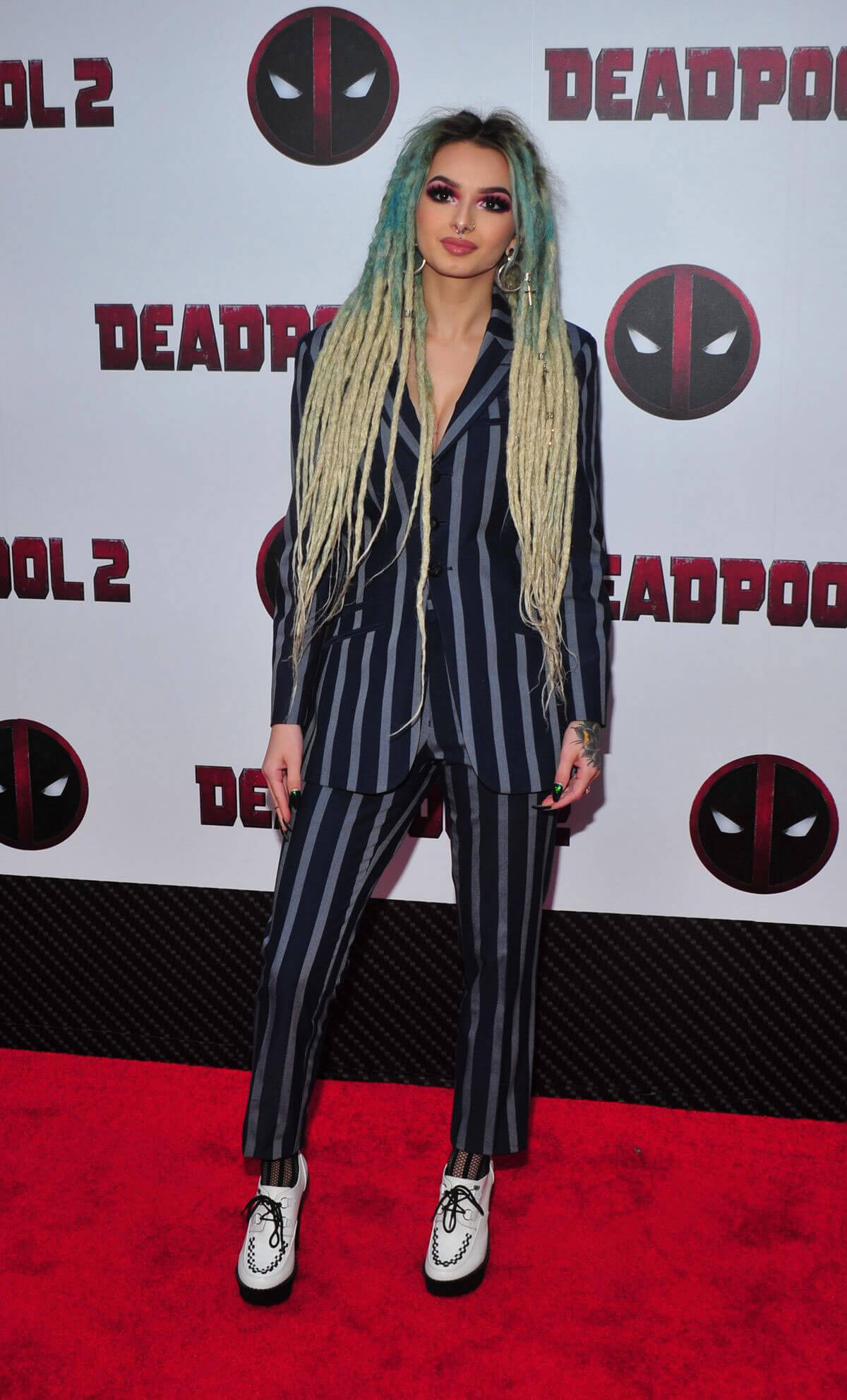Zhavia Stills at Deadpool 2 Special Screening in New York 2018/05/14 9