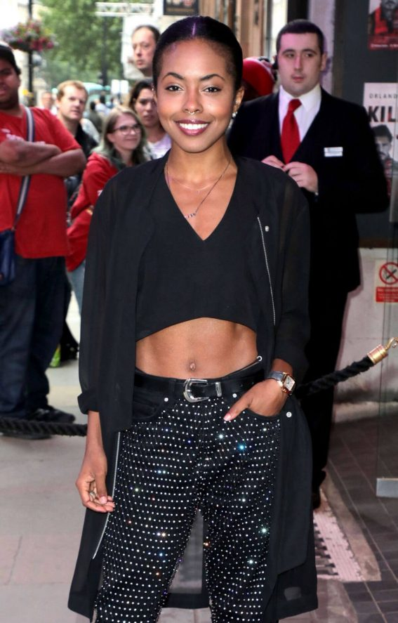 Adrienne Warren at Killer Joe Press Night in London 2018/06/04 10