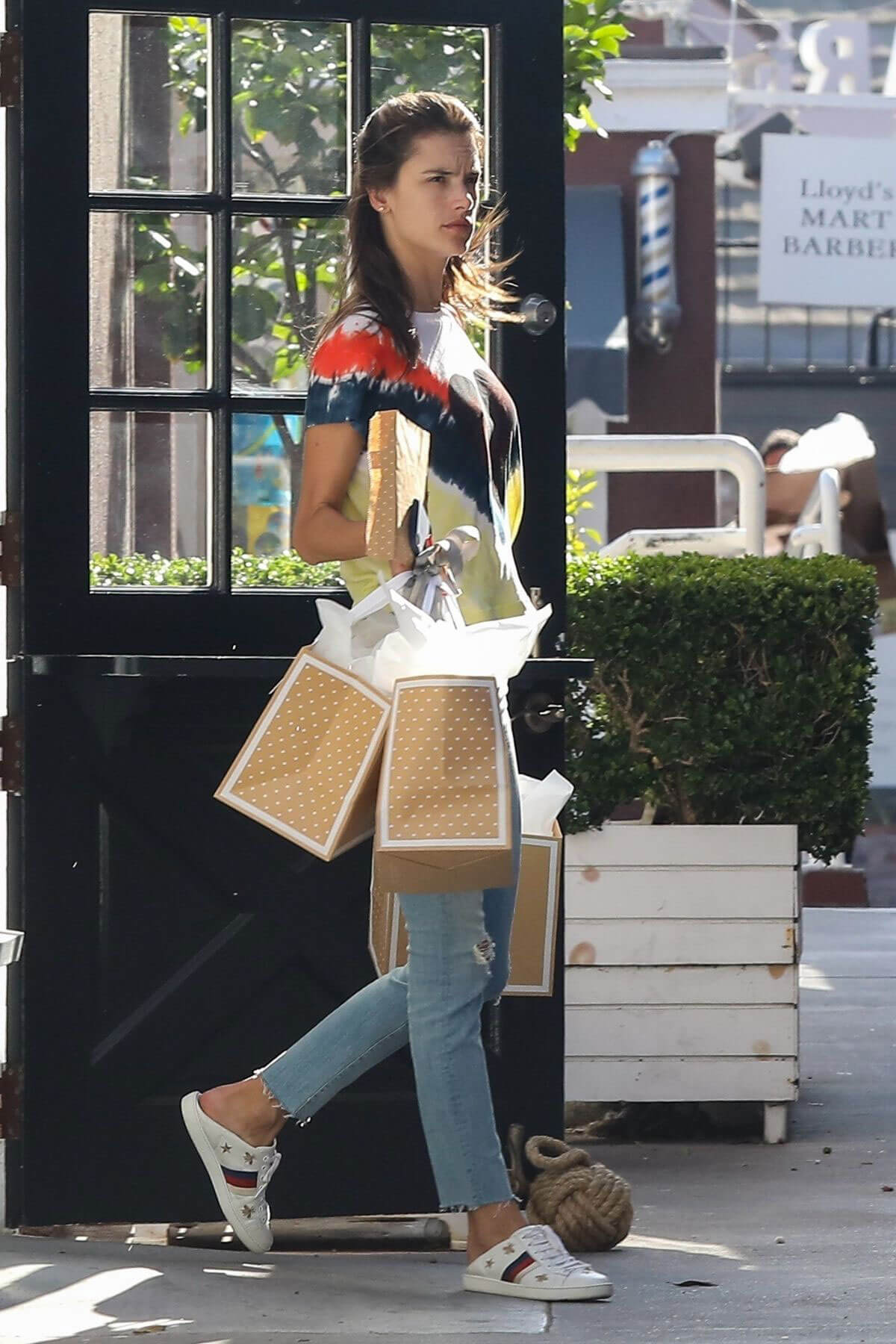 Alessandra Ambrosio at Sugar Paper Store in Brentwood 2018/06/12 1