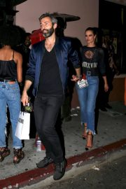 Alessandra Ambrosio Leaves Moschino Afterparty in Hollywood 2018/06/08 4