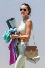 Alessandra Ambrosio Leaves Yoga Class in Los Angeles 2018/06/11 2