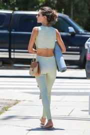 Alessandra Ambrosio Leaves Yoga Class in Los Angeles 2018/06/11 10