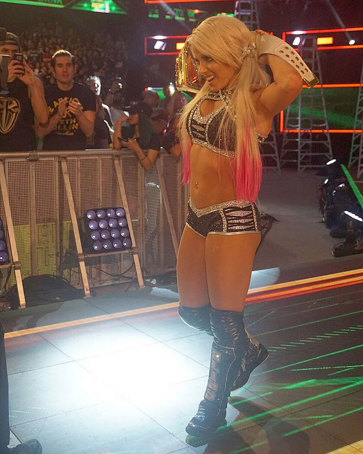Alexa Bliss at WWE Money in the Bank in Chicago 2018/06/17 1