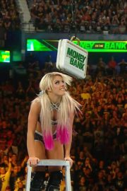 Alexa Bliss at WWE Money in the Bank in Chicago 2018/06/17 10