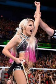 Alexa Bliss at WWE Money in the Bank in Chicago 2018/06/17 12