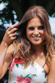 Alexandra Felstead at Investec Derby Festival Ladies Day at Epsom Racecourse 2018/06/01 2