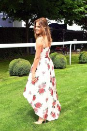 Alexandra Felstead at Investec Derby Festival Ladies Day at Epsom Racecourse 2018/06/01 14