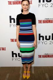 Alexis Bledel at The Handmaid's Tale FYC in Beverly Hills 2018/06/07 2