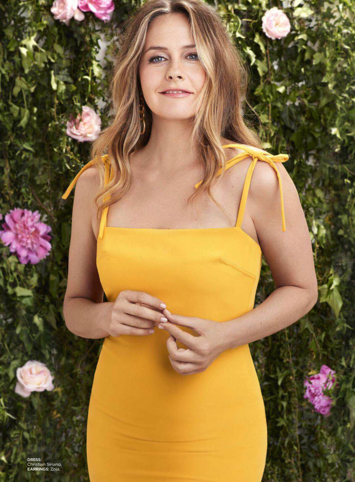 Alicia Silverstone in Redbook Magazine, July/August 2018 Issue 1